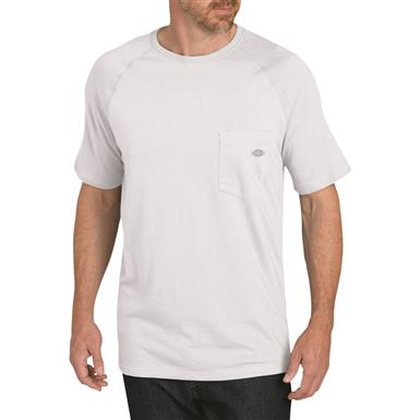Dickies Men's Temp-iQ Performance Cooling T Shirt, White