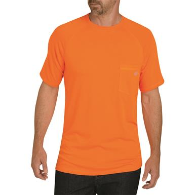 Dickies Men's Temp-iQ Performance Cooling T Shirt, Bright Orange