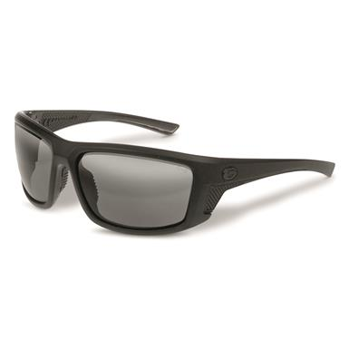Gargoyles Men's Stance Sunglasses, Black Lenses, Black/Black