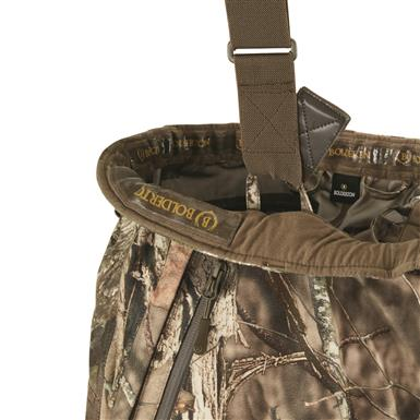 Adjustable, removable suspenders on Shell Pants, Mossy Oak Break-Up® COUNTRY™