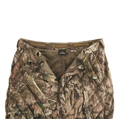 Zipper fly and elastic gripper waistband, Mossy Oak Break-Up® COUNTRY™