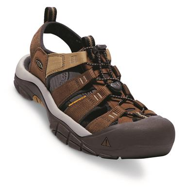KEEN Men's Newport H2 Sandals, Mulch/Dark Earth