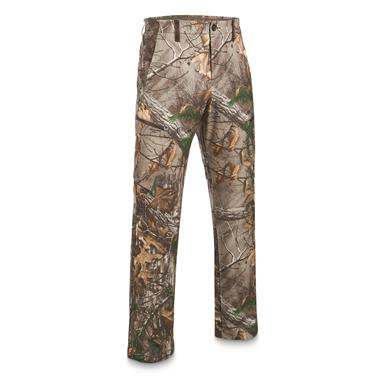 Under Armour Stealth Reaper Early Season Field Pants, Black/Realtree AP Xtra