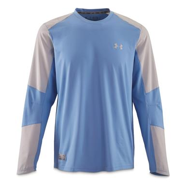 Under Armour Men's CoolSwitch Hybrid Crew Shirt, Carolina Blue