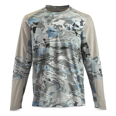 Under Armour Men's CoolSwitch Hybrid Crew Shirt, UA Hydro Camo