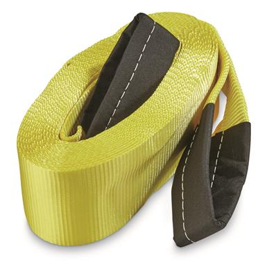 "Epic Recovery Tow Strap 30' x 4"", 20,000 lb. Break Strength"