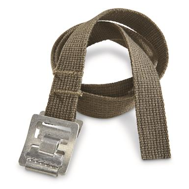 Made of rugged cotton canvas webbing with Plastic buckle