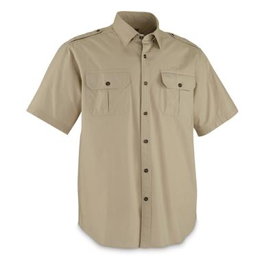 Guide Gear Men's Outback Shirt, Khaki