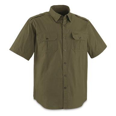 Guide Gear Men's Outback Shirt, Olive