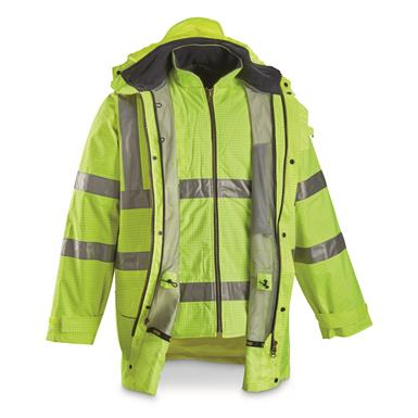 Includes both Inner and Outer Jacket, Hi-Vis Yellow