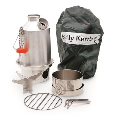 Kelly Kettle Stainless Steel Medium Scout Kit