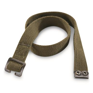 Dutch Military Surplus Canvas Straps, 10 pack, Used