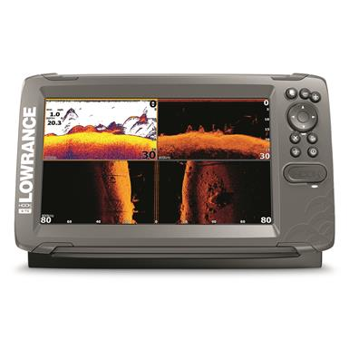 Lowrance HOOK2-9 Fish Finder with TripleShot Transducer