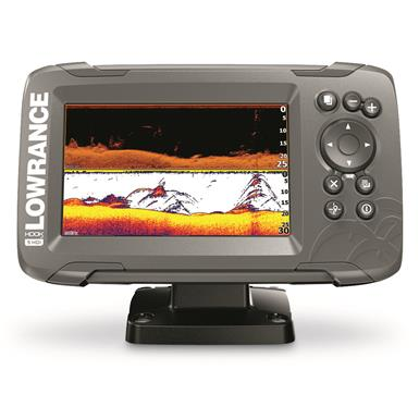 Lowrance HOOK2 5 Fish Finder with SplitShot Transducer