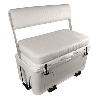 Wise Ice Cage 105 Qt. Cooler with Swingback Seat