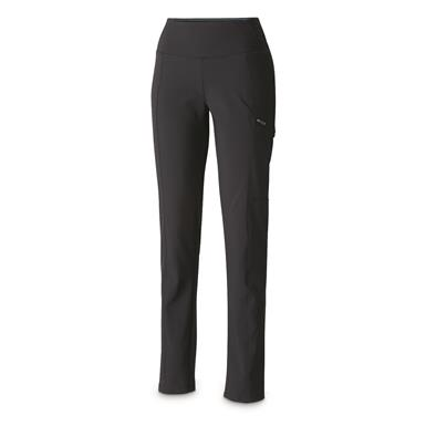 Columbia Women's Back Beauty Highrise Warm Winter Pants, Black