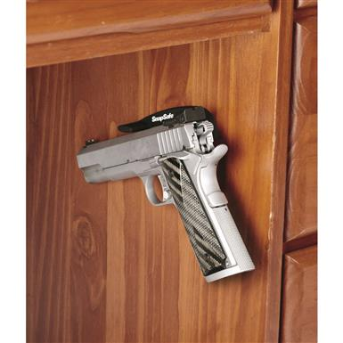 Provides a secure hold for guns up to 48 oz. (3 lbs.)