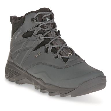 "Merrell Men's Thermo Adventure Ice+ Insulated Waterproof 6"" Hiking Boots, 200 Gram, Granite"