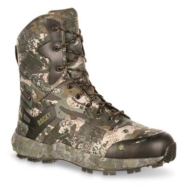 "Rocky Men's Broadhead 8"" Waterproof Insulated Hunting Boot, 800 Gram, Venator®"