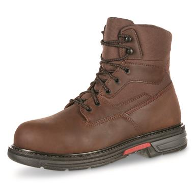 "Rocky Men's Ironclad LT Waterproof 6"" Work Boots, Brown"