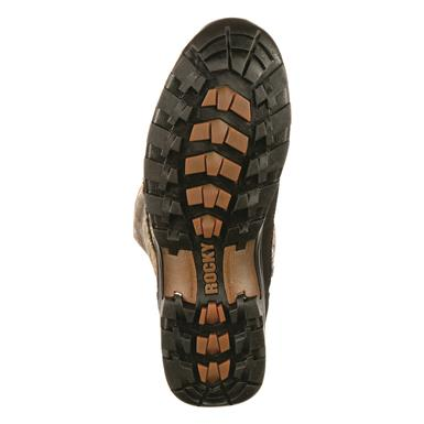 A Prolight BioMech outsole provides excellent traction on uneven ground., Mossy Oak Break-Up®