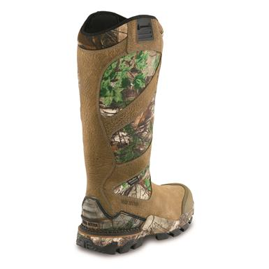 StableFlex™ technology increases flexibility in the forefoot with a stable platform in the heel, Brown/Realtree Xtra® Green