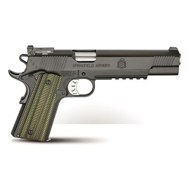"Springfield 1911 TRP Operator Long Slide, Semi-Automatic, 10mm, 6"" Barrel, 8+1 Rounds"