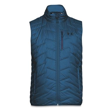 Under Armour Men's ColdGear Reactor Vest, Cruise Blue