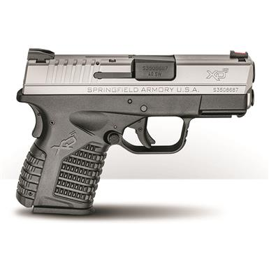 "Springfield XD-S 3.3"" Single Stack, Semi-Automatic, .45 ACP, 3.3"" Barrel, 5+1 Rounds"