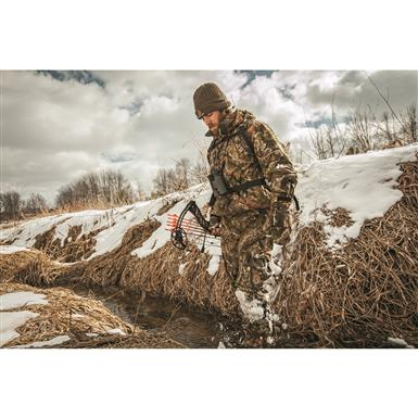 Quiet, brushed tricot Jacket, Mossy Oak Break-Up® COUNTRY™