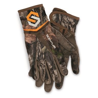 ScentLok Men's Full Season Bow Release Gloves, Mossy Oak Break-Up® COUNTRY™