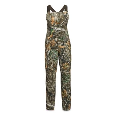 Under Armour Women's Brow Tine Bibs, UA Forest/Charcoal