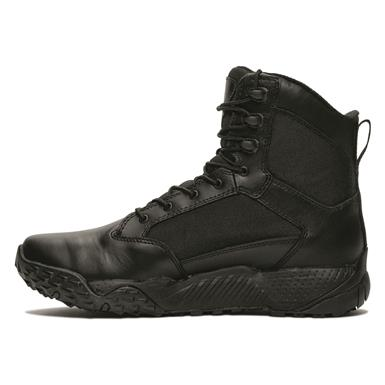 Under Armour Men's Stellar Waterproof Tactical Boots, Black