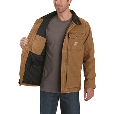 Carhartt Men's Full Swing Insulated Traditional Coat, Carhartt® Brown