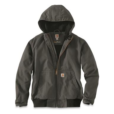 Carhartt Men's Full Swing Armstrong Active Jacket, Gravel