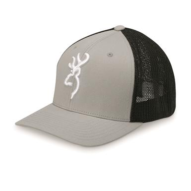 Browning Men's Colstrip Meshback Cap, Charcoal