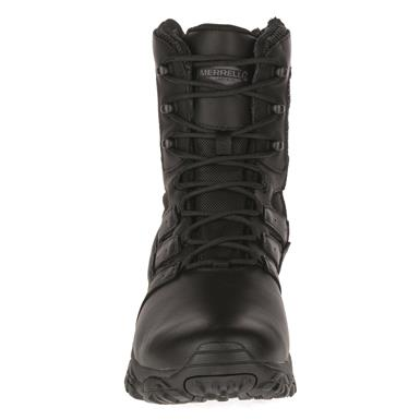 "Merrell Moab 2 Men's 8"" Tactical Response Waterproof Boots, Tactical Black"
