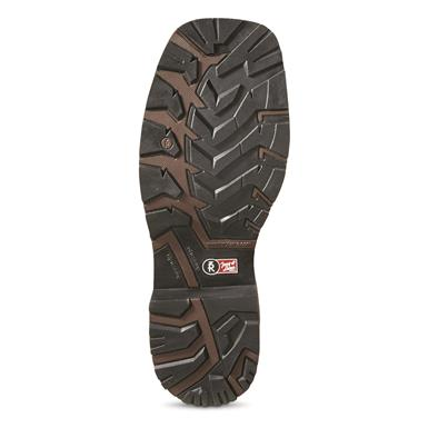 Lugged oil/slip-resistant outsole, Brown