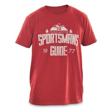 Sportsman's Guide T-Shirt, Basic Logo, Red