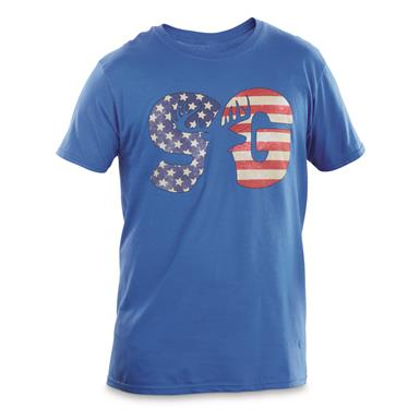 Sportsman's Guide T-Shirt, Flag Logo, Royal
