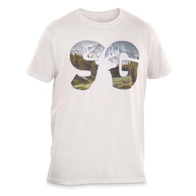 Sportsman's Guide T-Shirt, Landscape Logo, White