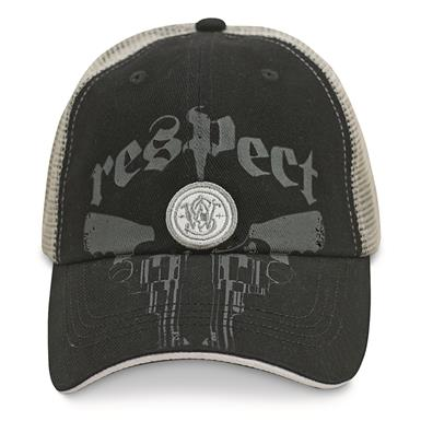 Smith & Wesson Men's Respect Mesh Back Cap