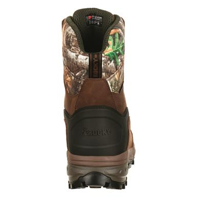 Molded rubber heel guard, Realtree EDGE™