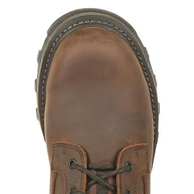 Outsole is bond-welted for added flexibility, Dark Brown