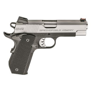 "Springfield 1911 EMP 4"" Concealed Carry Contour, Semi-Automatic, 9mm, 4"" Barrel, 9+1 Rounds"