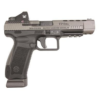 "Century Arms Canik TP9SFx, Semi-Automatic, 9mm, 5.2"" Barrel, Vortex Viper Red Dot, 20+1 Rounds"
