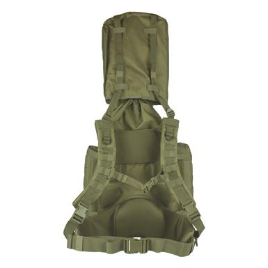 Hood protects your rifle or shotgun's muzzle and stores neatly in the compartment when not in use, Olive Drab