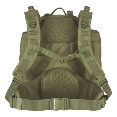 "Deluxe 1.5"" foam padding with mesh lining for comfortable carrying, Olive Drab"