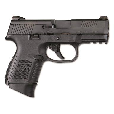 "FN America FNS-9 Compact, Semi-Automatic, 9mm, 3.6"" Barrel, No Manual Safety, 10+1 Rounds"