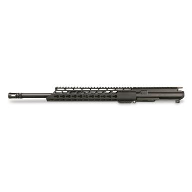 "Anderson KeyMod 300 BLK AR-15 Complete Upper Less BCG and Chg. Handle, 16"" Barrel"